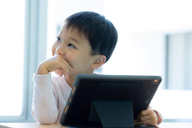 マイエイカイワ-キッズレッスン-iPad・タブレットで学ぶ